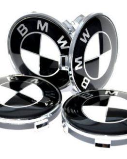 a set of 4 pieces BMW Genuine Wheel Center Caps 68 mm